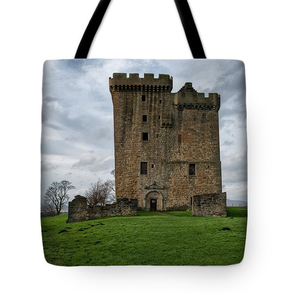 Tote Bag featuring the photograph Clackmannan Tower by Jeremy Lavender Photography