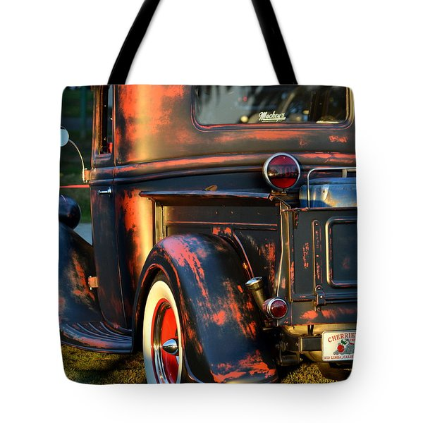 Classic Ford Pickup Tote Bag by Dean Ferreira