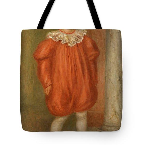 Claude Renoir In Clown Costume Tote Bag