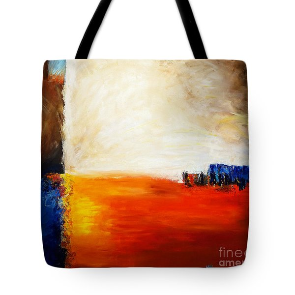 4 Corners Landscape Tote Bag by Gallery Messina