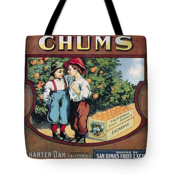 Crate Label, 20th Century Tote Bag by Granger