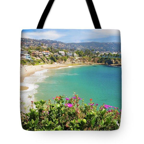 Crescent Bay, Laguna Beach, California Tote Bag