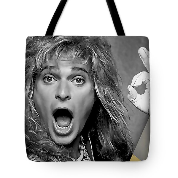 David Lee Roth Collection Tote Bag by Marvin Blaine