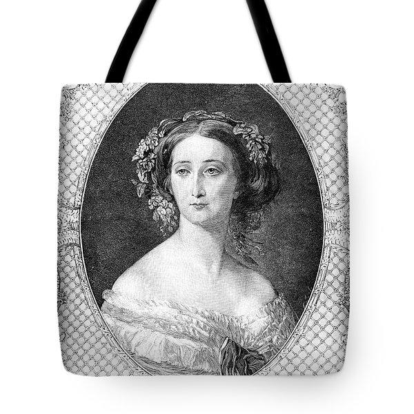 Empress Eugenie Of France Tote Bag by Granger