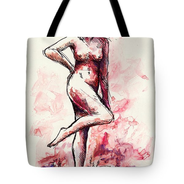 Figure Study Tote Bag by Rachel Christine Nowicki