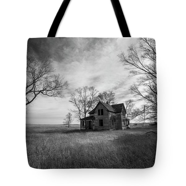 Tote Bag featuring the photograph Forgotten  by Aaron J Groen