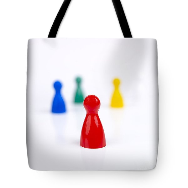 Game Pieces In Various Colours Tote Bag