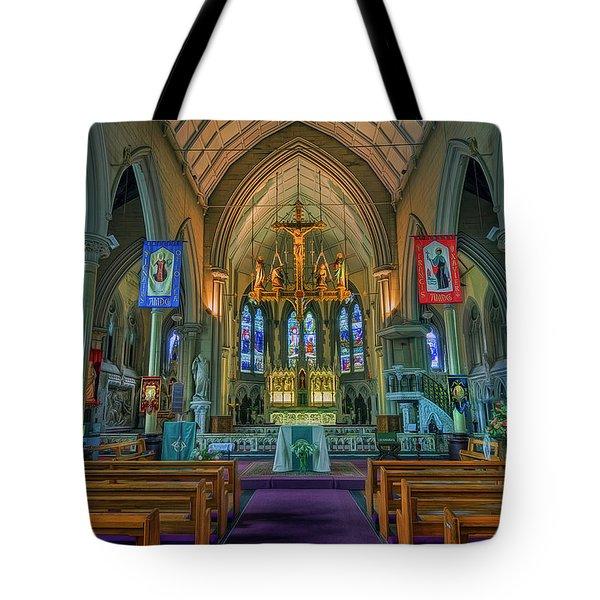 Gods Light Tote Bag