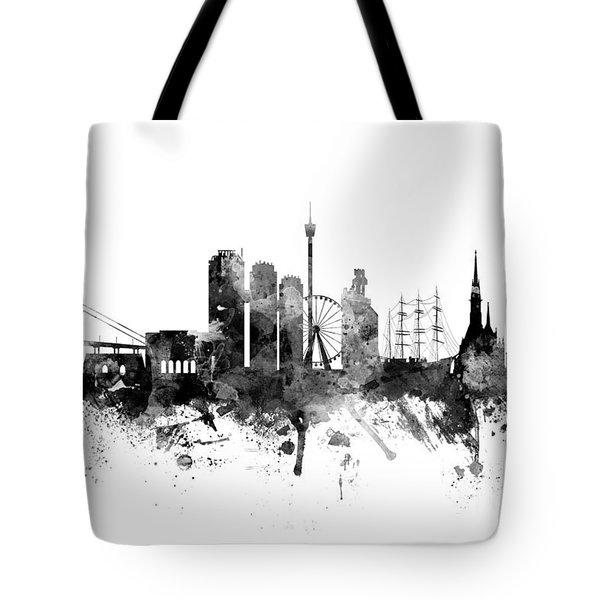 Gothenburg Sweden Skyline Tote Bag