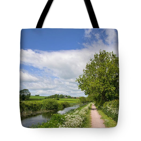 Grand Western Canal Tote Bag