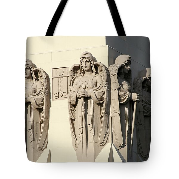4 Guardian Angels Tote Bag