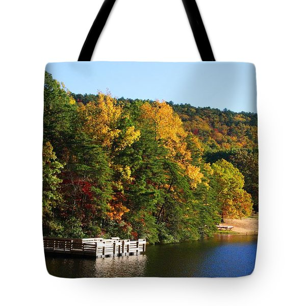 Hanging Rock Lake Tote Bag