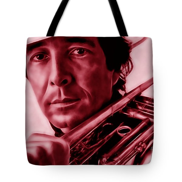 Herb Alpert Collection Tote Bag by Marvin Blaine
