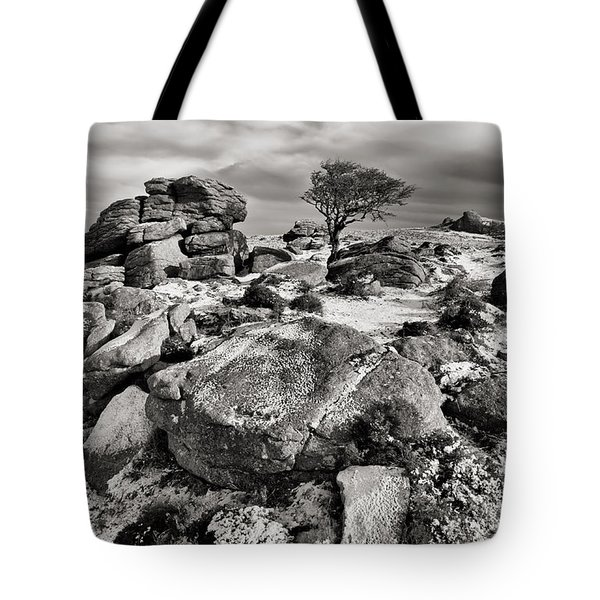 Holwell Tor On Dartmoor Tote Bag