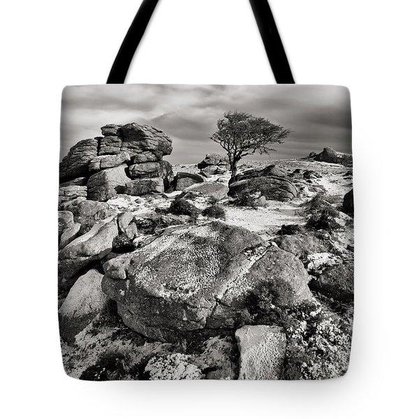 Holwell Tor On Dartmoor Tote Bag