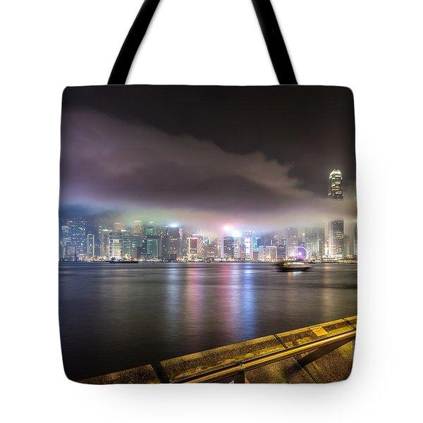 Hong Kong Stunning Skyline Tote Bag
