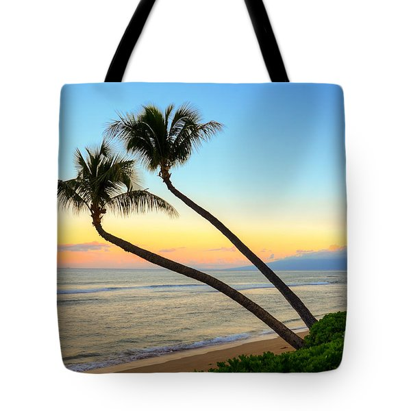 Tote Bag featuring the photograph Island Sunrise by Kelly Wade