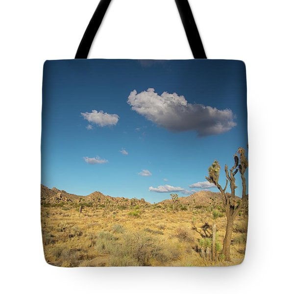 Joshua Tree Sunset Tote Bag