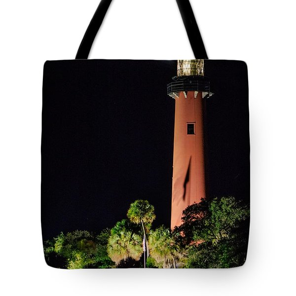 Jupiter Lighthouse Tote Bag