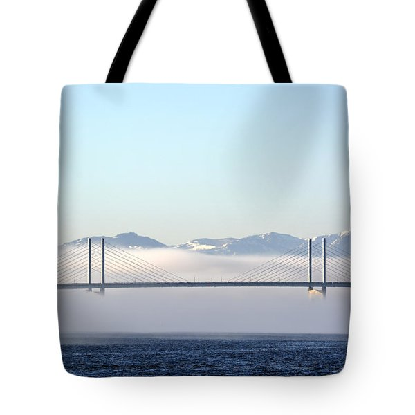 Kessock Bridge, Inverness Tote Bag