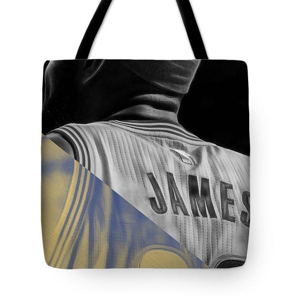Lebron James Collection Tote Bag