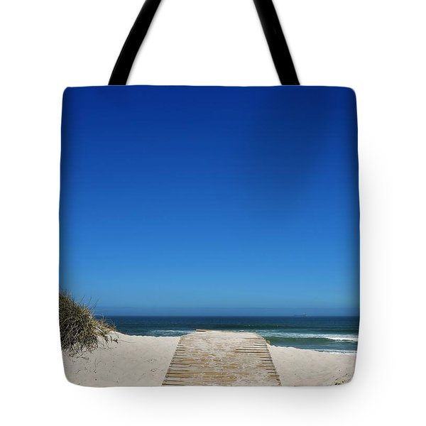 long awaited View Tote Bag