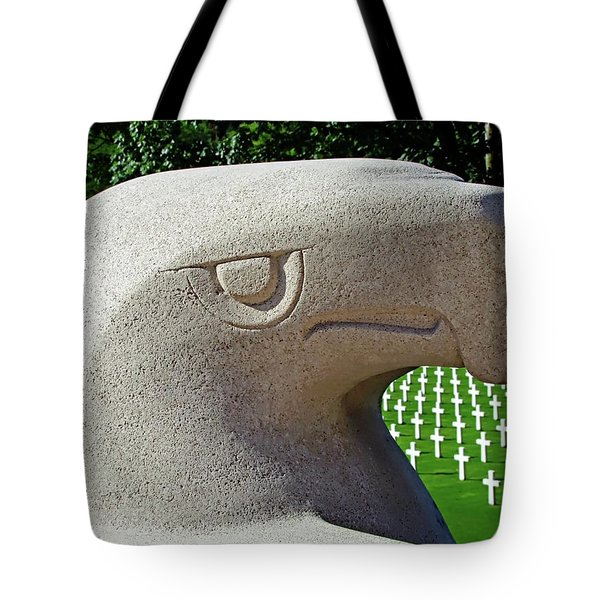 Tote Bag featuring the photograph Lorraine Wwii American Cemetery - St Avold, France by Joseph Hendrix