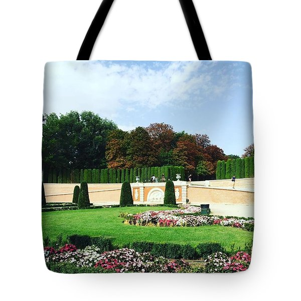 The Gardens Of The Prince  Tote Bag