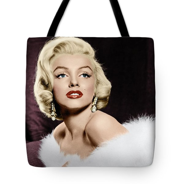 Tote Bag featuring the photograph Marilyn Monroe by Granger