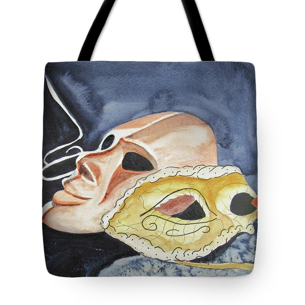 #4 Mask Removed Tote Bag