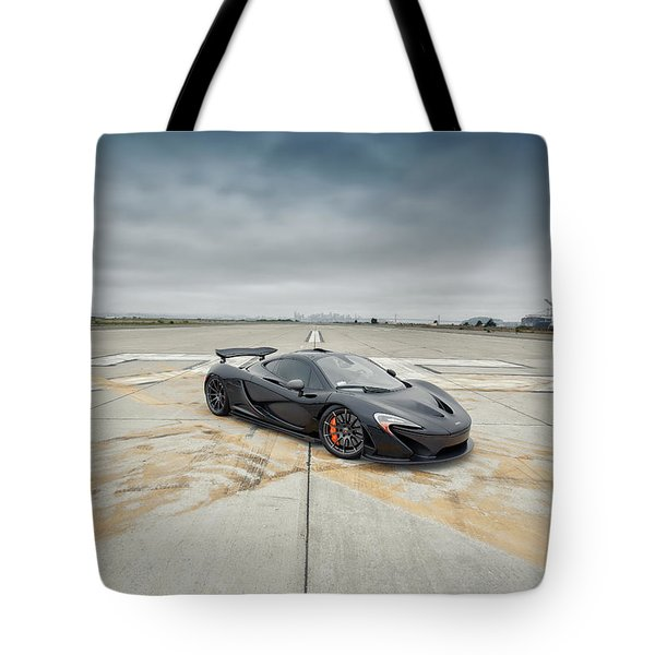 Tote Bag featuring the photograph #mclaren #mso #p1 by ItzKirb Photography