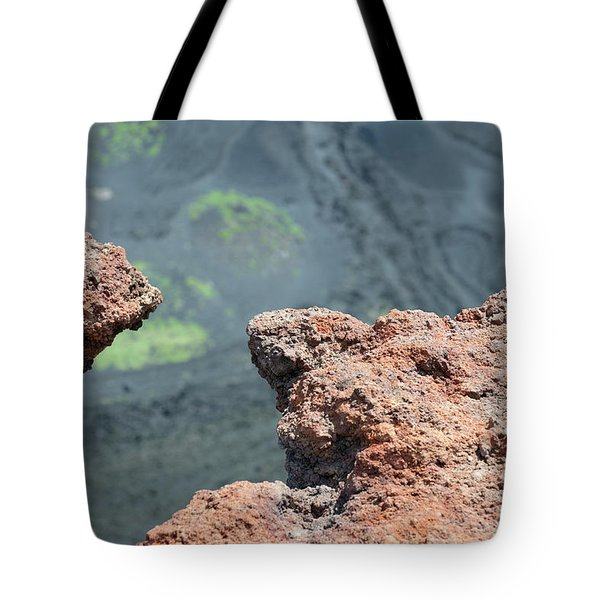 Mount Etna Tote Bag