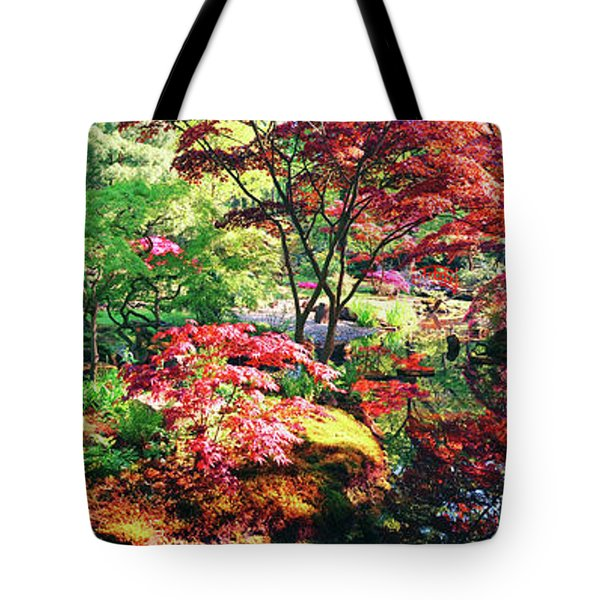 Tote Bag featuring the photograph Nature Background Panorama by Ariadna De Raadt