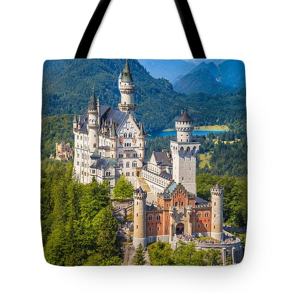 Neuschwanstein Fairytale Castle Tote Bag