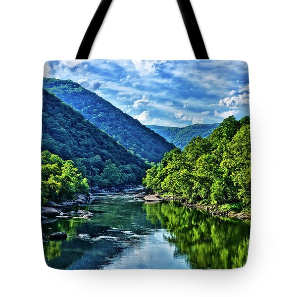 New River Gorge National River Tote Bag