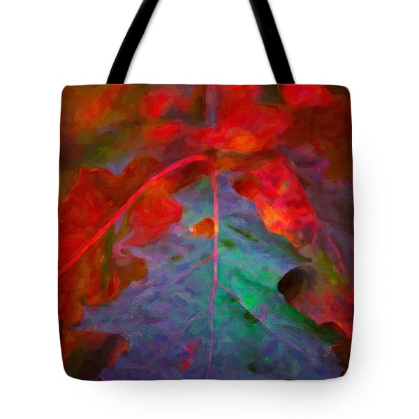 Oak Leaf Tote Bag by Andre Faubert