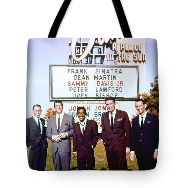 Ocean's 11 Promotional Photo Tote Bag by The Titanic Project