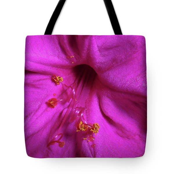 Tote Bag featuring the photograph 4 O'clock Bloom by Richard Rizzo