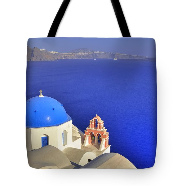 Oia - Santorini Tote Bag