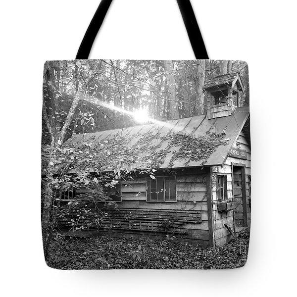 One Room School House Gnawbone Indiana Tote Bag by Scott D Van Osdol