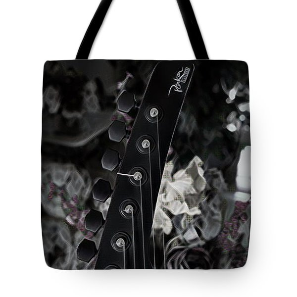 Parker Fly Guitar Headstock Tote Bag