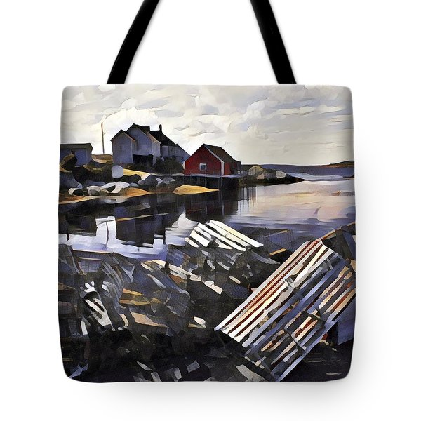 Peggys Cove Tote Bag