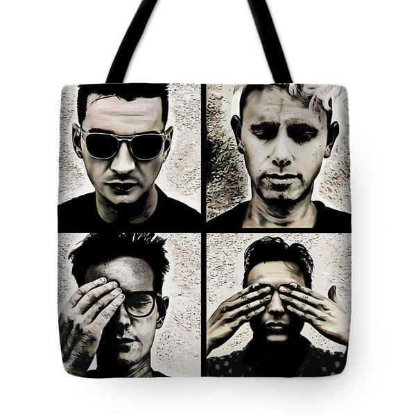 4 Pics From Violator T-shirt  Tote Bag