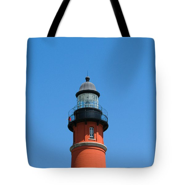 Ponce De Leon Inlet Lighthouse Tote Bag by Allan  Hughes