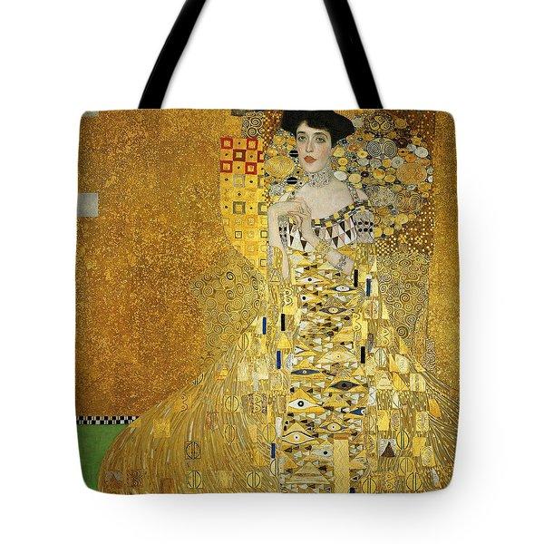 Portrait Of Adele Bloch-bauer I Tote Bag by Gustav Klimt