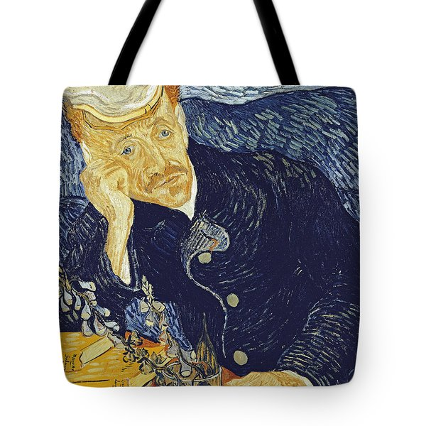 Portrait Of Dr. Gachet Tote Bag