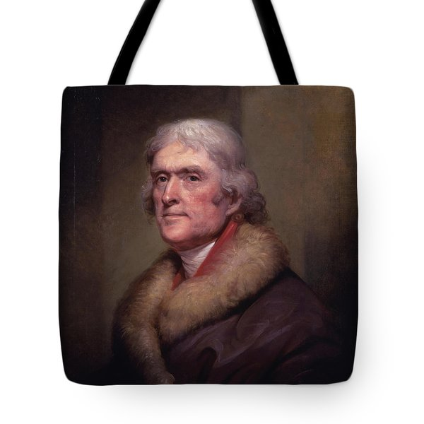 President Thomas Jefferson Tote Bag by War Is Hell Store