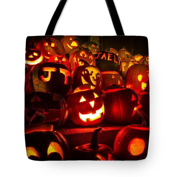 Tote Bag featuring the photograph Pumpkinfest 2015 by Robert Clifford