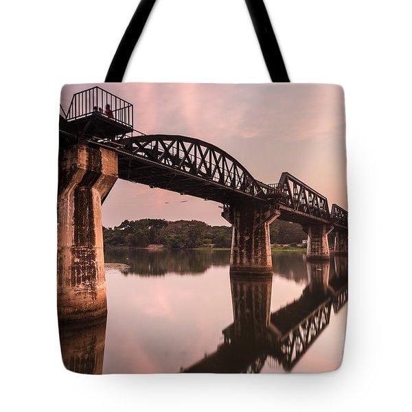 River Kwai Bridge Tote Bag