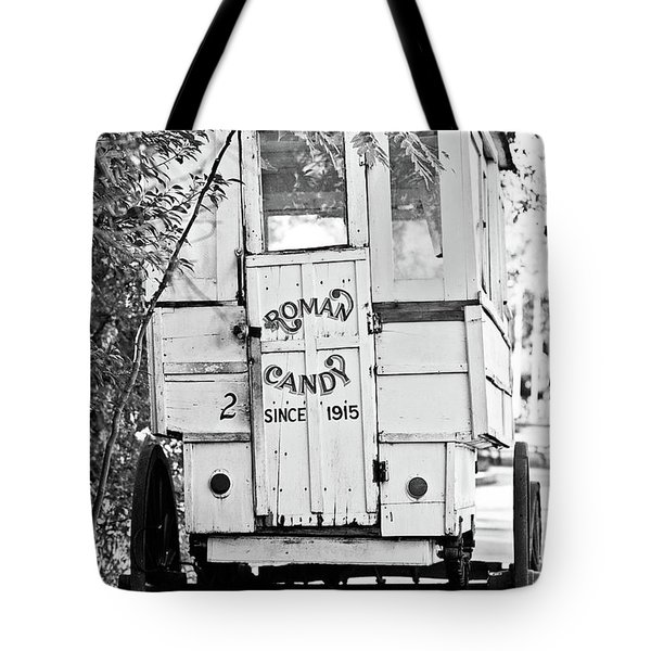 Roman Candy Tote Bag by Scott Pellegrin
